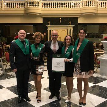 Foto graduados Master Turismo ICT 2019